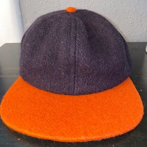 Men's Vintage Fitted Wool Baseball Style Hat